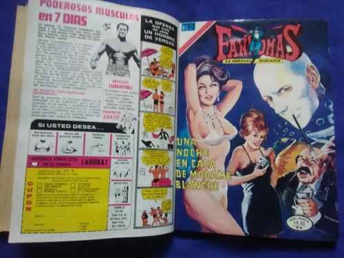 Album 5 Revistas De Comic De Fantomas