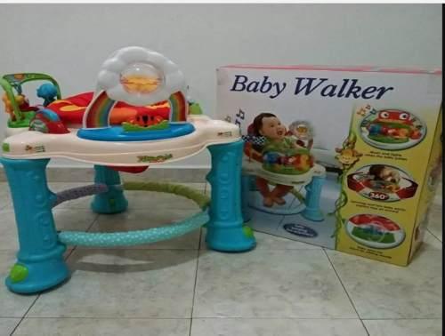 Andadera Musical 360° Baby Walker Poco Uso,como Nueva