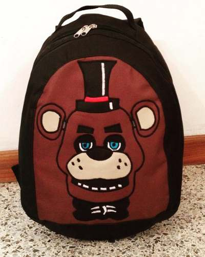 Bolso Morral Escolar Lunchera Five Nights At Freddys