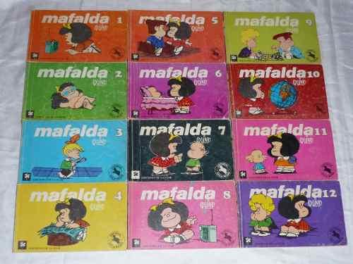 Coleccion Completa De Mafalda 12 Libros + Mafalda Inedita