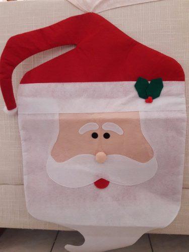 Cubre Espaldar De Sillas De Navidad (bs. S )