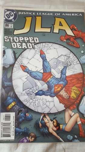 Liga De La Justicia #86 Superman En Fisico