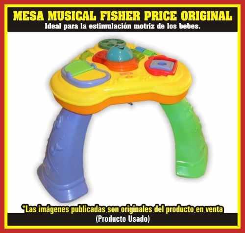 Mesa De Entretenimiento Para Bebes Fisher Price