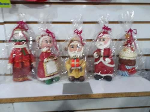 Muñecos De Navidad En Masa Flexible