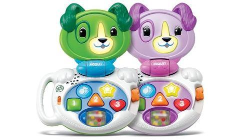 Perrito Animado Baby Lap Violeta Y Scout Para Niños Y
