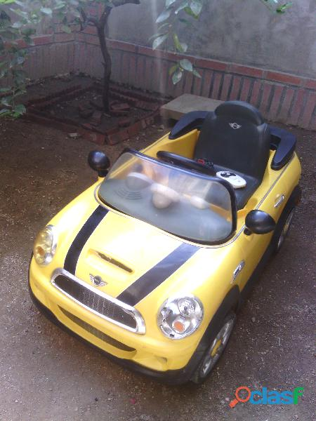 Se Vende Carro Electrico Mini Coopers para niños