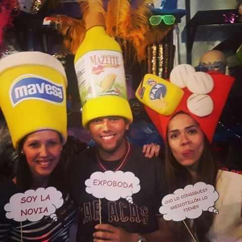 Sombreros Hora Loca Goma Espuma