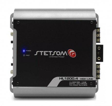 Amplificador Stetsom Hl1200.4-2 4ch / 1 Ohms High Line