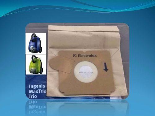 Bolsa Aspiradora Electrolux Ingenio Verde,azul, Roja (unidad