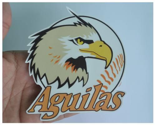 Calcomanias Y Etiquetas De Beisbol. Aguilas Del Zulia.