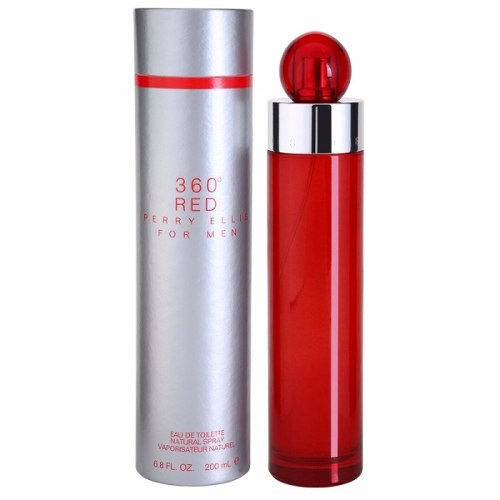 Colonia 360° Red Perry Ellis For Men 3.4 Oz./100 Ml