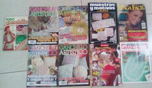 Combo De 7 Revista De Ganchillo Y 1 Libro Ganchillo