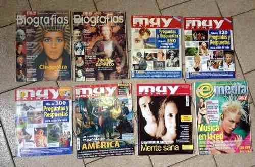 Combo De Revistas Muy Interesante Edicion Extra