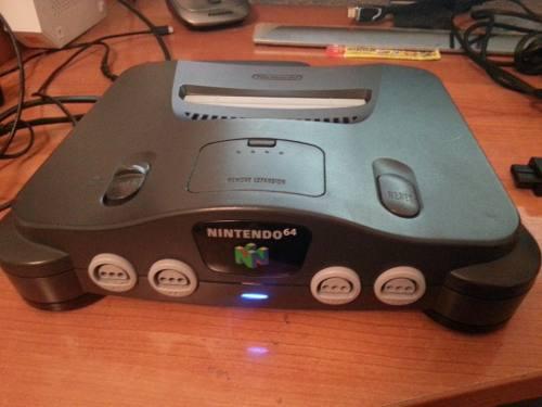 Consola Nintendo 64 En Perfecto Estado
