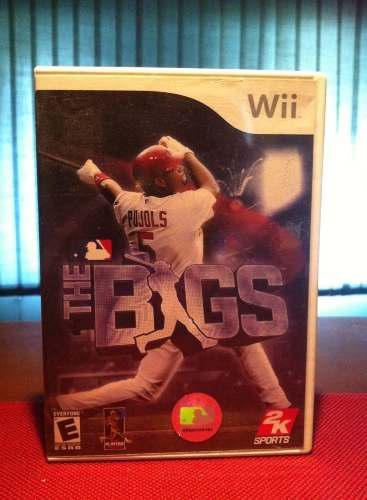 Juego Original Para Consola Wii The Bigs