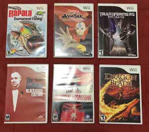 Juegos De Wii Originales En Su Caja Y Con Manual
