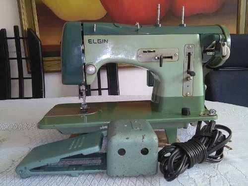 Maquina De Coser Semi-infustrial Marca Elgin Usada Italiana