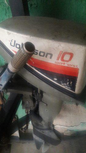 Motor Fuera De Borda Jhonson 12 Hp En Optimas Condiciones A1