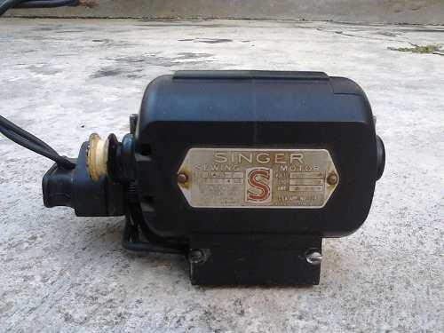 Motor Para Maquina De Coser Singer Original