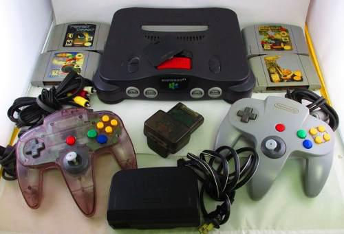 Nintendo 64 2 Controles Mario Kart James Bond Expansion Pack