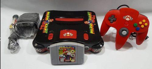 Nintendo 64 Bundle With Mario Kart 64 Custom