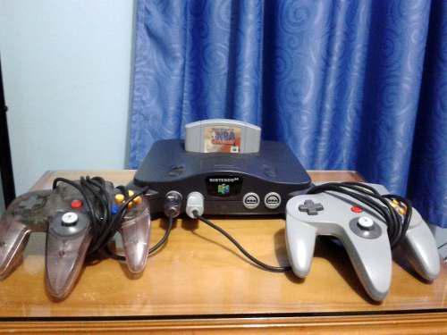 Nintendo 64 Con 2 Controles Y 3 Juegos Oferta!!
