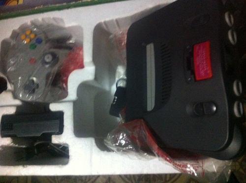 Nintendo 64 En Caja Like New N64 Nintendo