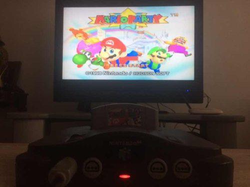 Nintendo 64 Mas 2 Controles Y 11 Juegos N64