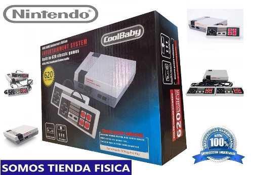 Nintendo Nes Mini 620 Juegos Mayor Y Detal