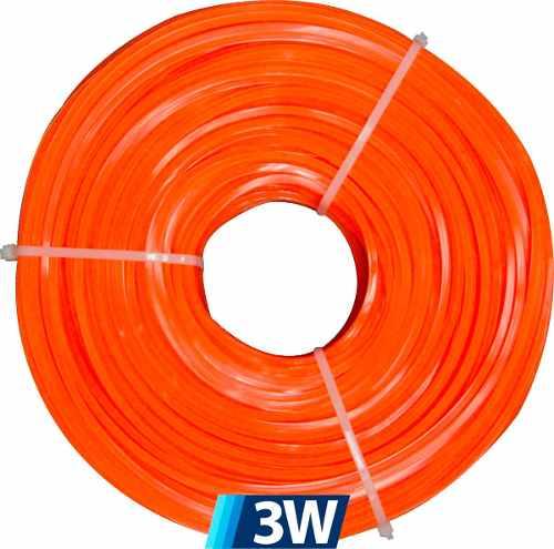 Nylon Desmalezadora 3.3mm 200 Metros Cuadrado Ya Disponible
