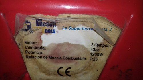 Oferta Desmalezadora Tucson Tools 43cc Cilindrada- Usada