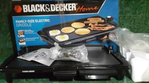 Plancha Eléctrica Familiar Black & Decker Nueva