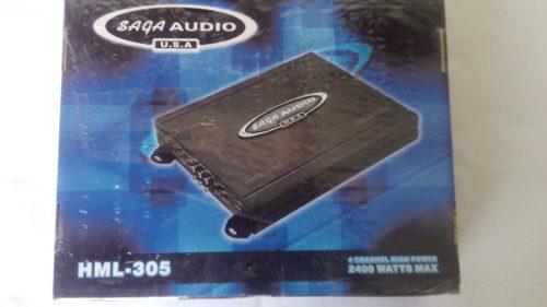 Planta Amplificador Saga Audio 2400 Watts Sop46