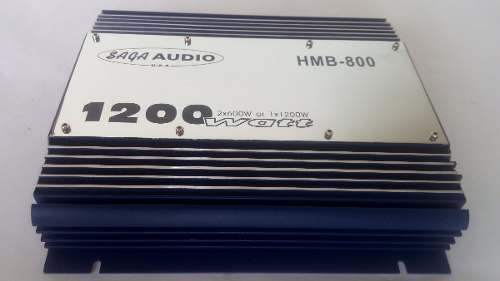Planta Amplificador Saga Audio  Watts Sop46