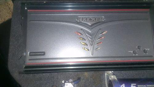 Planta Monoblock Kicker Zx 1500.1 Amplificador Sonido