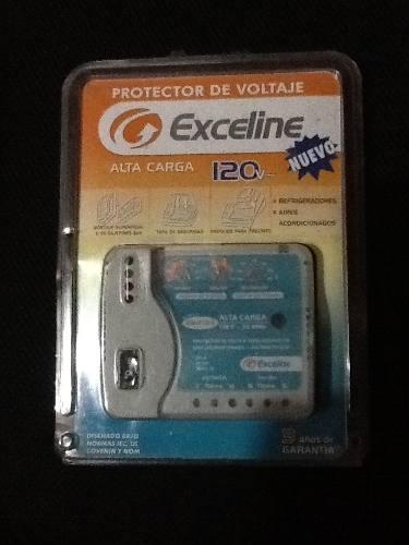 Protector De Voltaje Exceline Alta Carga 120 V Nuevo