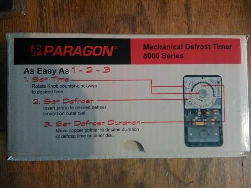 Reloj Paragon Original Para 120v 40amp 2hp