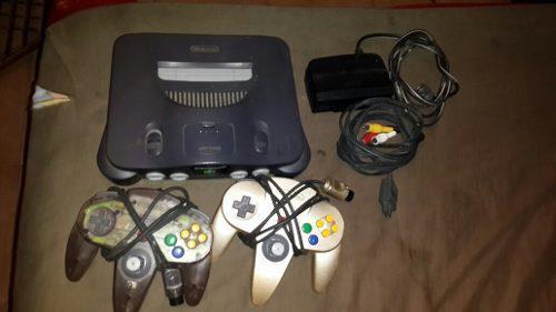 Se Vende Nintendo 64 En Buenas Condiciones