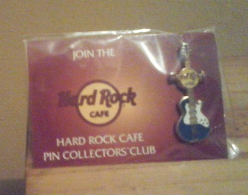 Sg2 Edicion Especial De Raro Pin Hard Rock Cafe. (original).