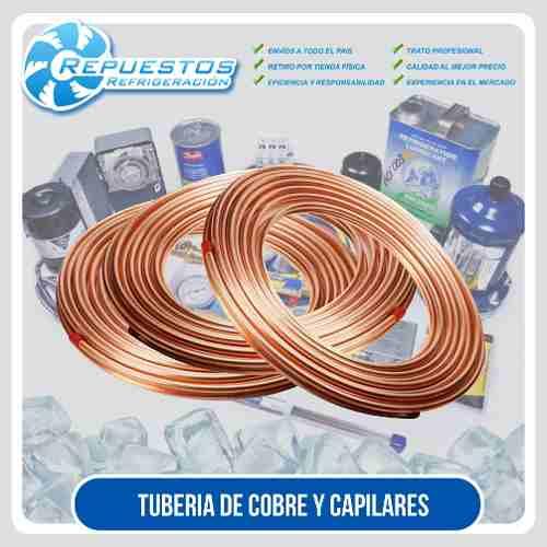 Tubo De Cobre Capilar X Mts