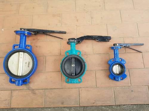 Valvulas De Mariposa Tipo Wafer De 3, 6 Y 8 Pulgadas