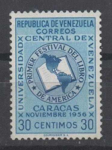 . Venezuela. Primer. Festival Del Libro En América