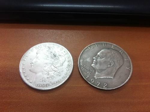 3 Monedas Americanas Para Magia