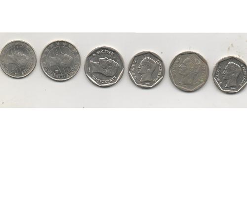 6 Monedas De 100 Y 50 Unicas Desde 98 Al
