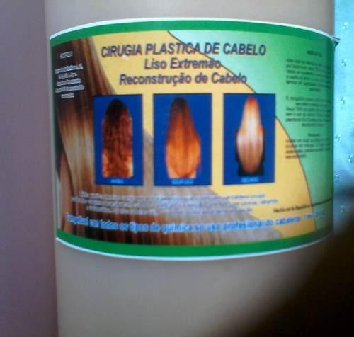 Cirugía Capilar Brillo De Oro + 1 L. Shampoo