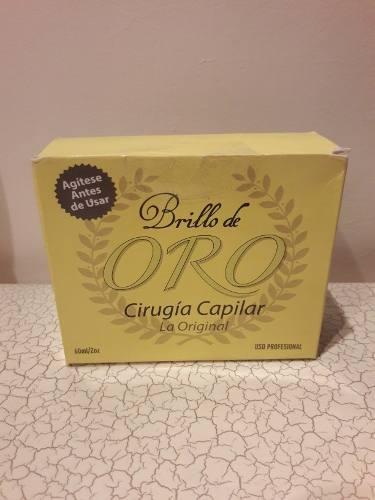Cirugía Capilar Brillo De Oro.