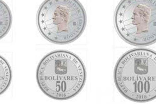 Combo De Monedas De 50 Y 100 Bolivares