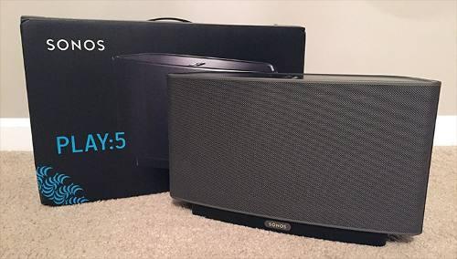 Corneta Inalambrica Audio Sonos Play:5