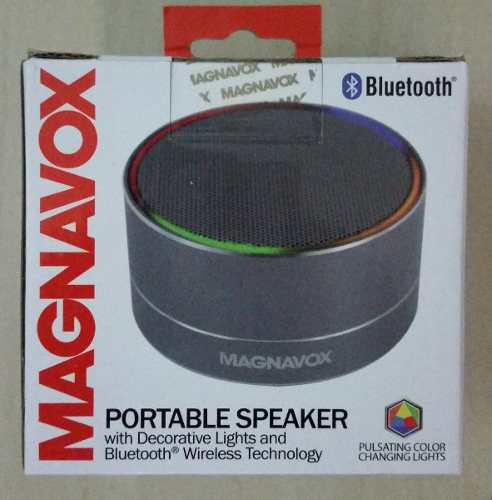 Corneta Portatil Magnavox (philips) Con Bluetooth Original