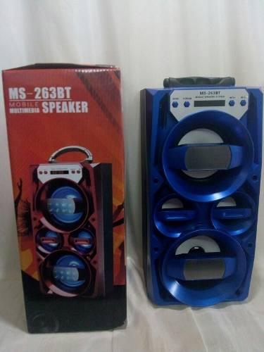 Corneta Portatil Potente Bluetooth, Pendrive, Microsd, Aux..